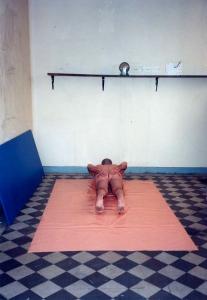Performance et poulie - 1997