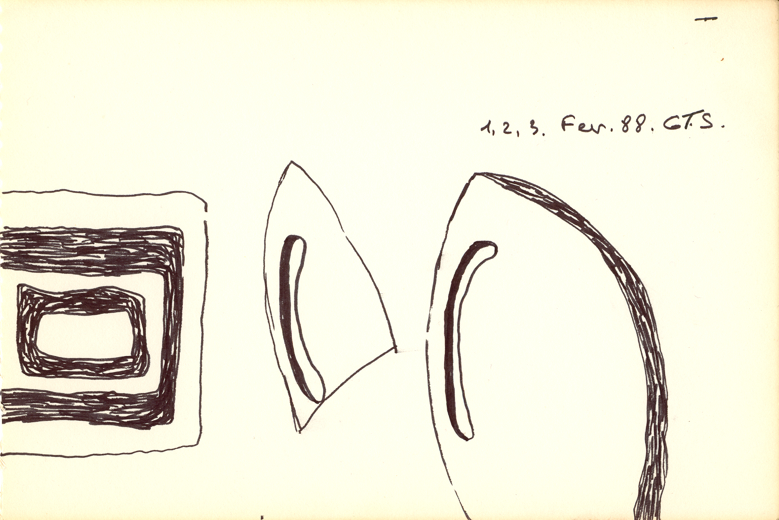 1, 2, 3- février 1988