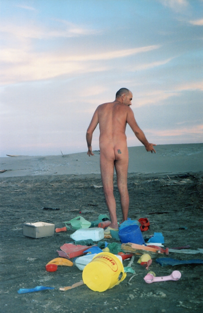 Sur la plage - 1995